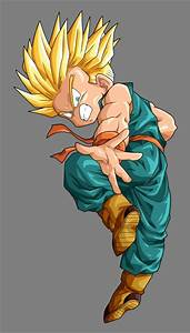 Animated Wallpaper: dragon ball z trunks super saiyan 4