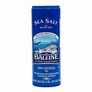 Mediterranean Sea Salt - Fine Crystals by La Baleine from ...