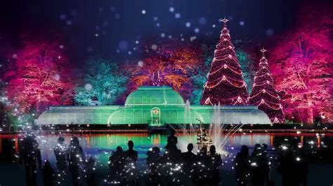 christmas at kew 2015 youtube