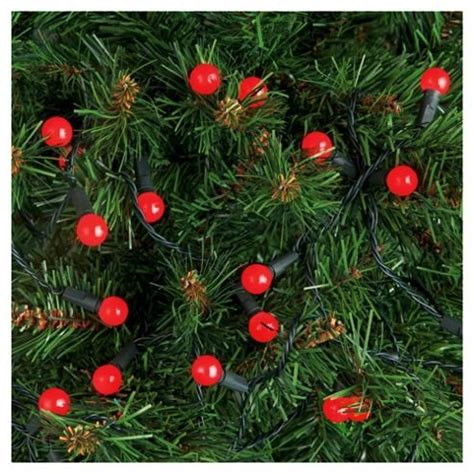50 berry led indoor lights new ebay - Christmas Tree Berry Lights