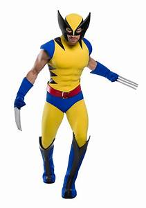 Premium Marvel Plus Size Wolverine Costume Fun Com Exclusive