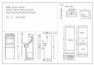 Woodwork Diy Arcade Cabinet Plans PDF Plans