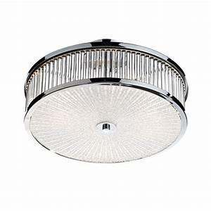 Modern flush ceiling light ara aramis