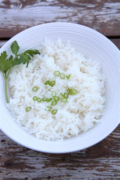 riz cuisiné riz blanc manmie et tatie