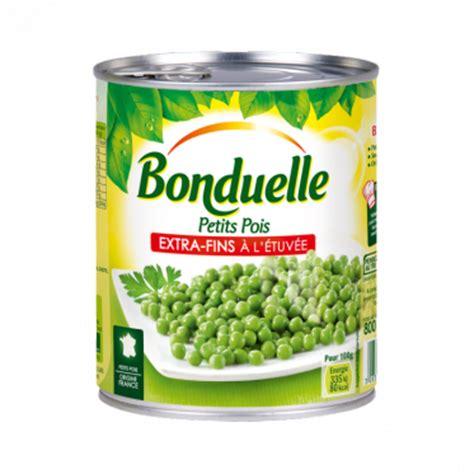 cuisiner petit pois en boite petits pois fins a l 39 etuvee les bons produits bonduelle