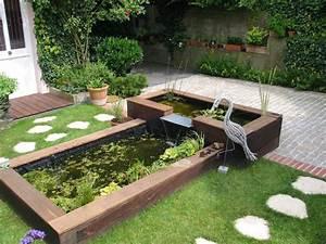 Jardin Avec Bassin : comment faire une cascade pour bassin ~ Melissatoandfro.com Idées de Décoration
