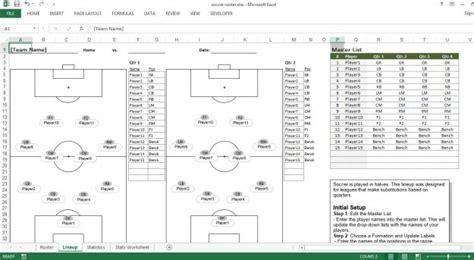soccer roster template soccer roster free excel template excel templates for every purpose