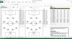soccer roster free excel template excel templates for With soccer team positions template