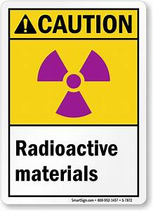 Radioactive Material Signs – Radioactive Substance Warnings