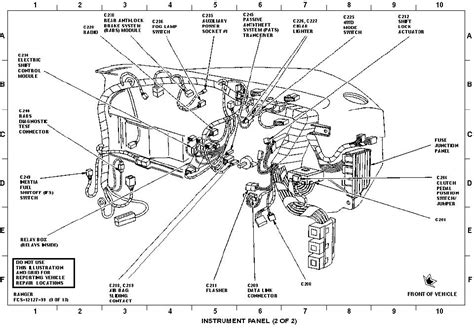 ford ranger wiring harness diagram efcaviation at 2009