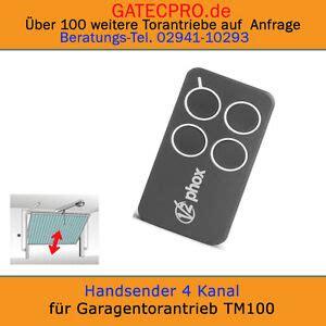 handsender 433 92 mhz handsender f 252 r garagentorantrieb funksteuerung phox 433 92 mhz rolling code ebay