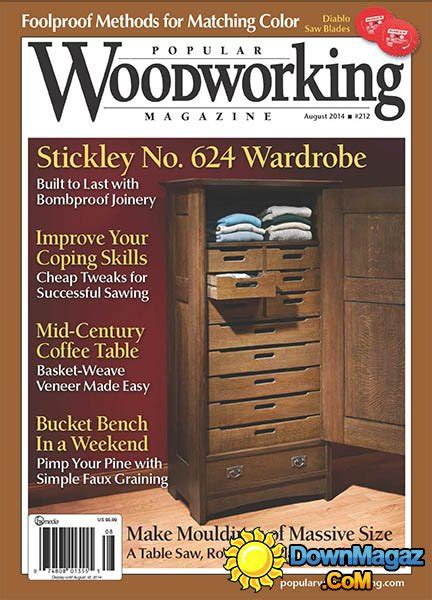 popular woodworking  august
