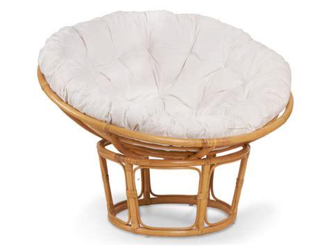 canapé papasan fauteuil papasan en rotin confortable coloris miel akaroa