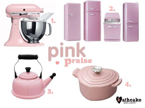 pink kitchen accessories i all of this except for the appliances yet ha 4330