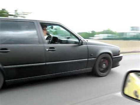 volvo  tr flat black hahn turbo highway pull youtube
