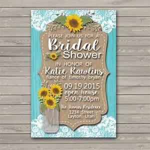 bridal shower invitation bridal shower invites bridal With sunflower wedding invitations vistaprint