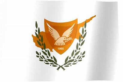 Cyprus Flag Arms Coat Waving Capital