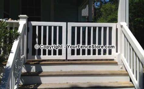 build  wooden swinging gate   deck