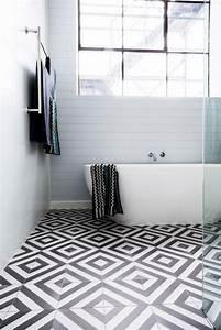 Badezimmer Grauer Boden Weiße Wand : die besten 17 ideen zu fliesen schwarz wei auf pinterest badezimmer schwarz fliesen schwarz ~ Bigdaddyawards.com Haus und Dekorationen