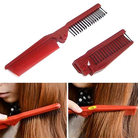 hair combs styles folding combs haircut makeup comb pro hair style 6989
