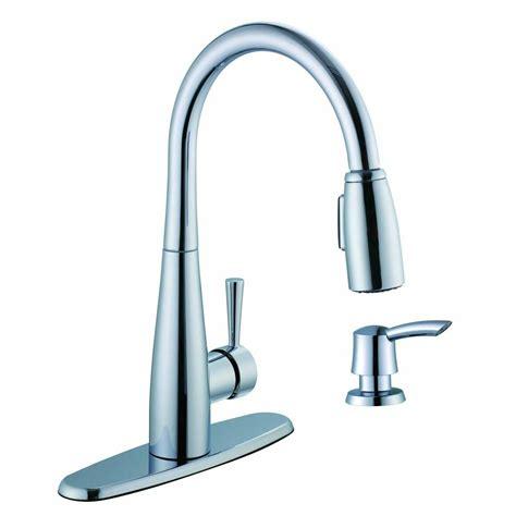 glacier bay pull kitchen faucet glacier bay 900 series single handle pull sprayer