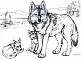 Wolf Coloring Pages Printable Clawdeen sketch template