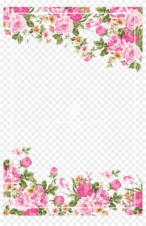 rose border png  rose borderpng transparent