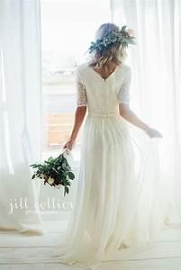 leonora dress by latterdaybride modest wedding dress With modest wedding dresses utah