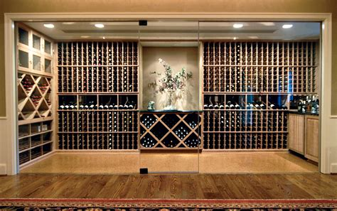 custom wine cellars wine enthusiast