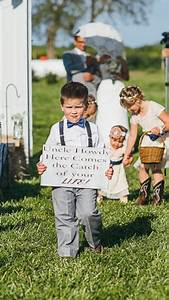 Ring bearer sign - Uncle (name) here comes the catch of