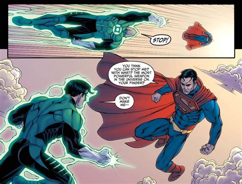 how superman beat green lantern hal comicnewbies