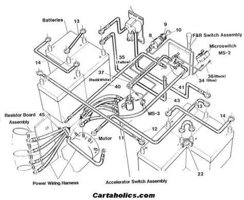 Cartaholics Golf Cart Forum Wiring Diagram Crafts