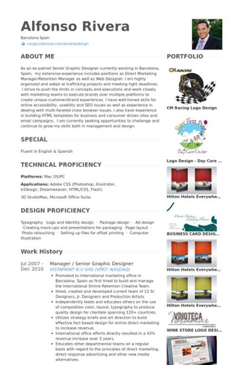 senior web designer cv senior graphic designer exemple de cv base de donn 233 es