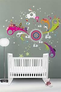 Kinderzimmer Wandgestaltung Ideen : 10 coole wandgestaltung ideen im kinderzimmer verspielte wandsticker ~ Sanjose-hotels-ca.com Haus und Dekorationen