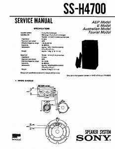 Sony Cdp-h4700  Mhc-4700 Service Manual