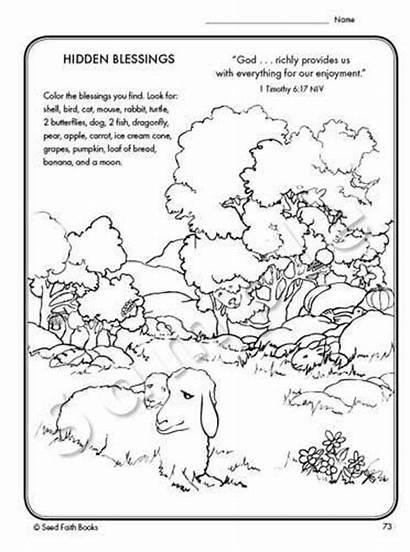 Psalm Activity Pdf Song Hidden Printable Shepherd