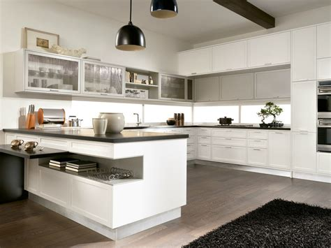 dep en cuisine timeline kitchen with peninsula by aster cucine s p a