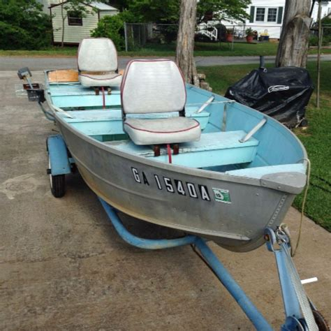 V Hull Fishing Boat For Sale by Find More Feathercraft 14 Ft V Hull Aluminum Boat With