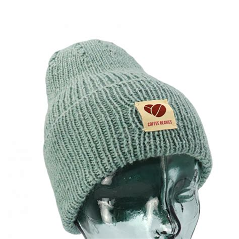 We offer high quality and cruelty free hair products, skincare and re Coffee Beanies Peace Beanie - Aqua - Accessories - Baronessen