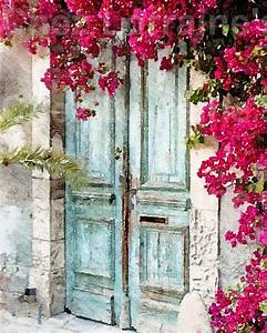 The Cottage Door: A Fine Art French Cottage Chic