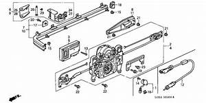 Honda Civic Hood Latch Diagram