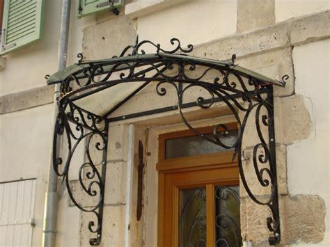 fabriquer une marquise en fer l de faire marquises et portes d fer forg 233 wrought iron iron and door canopy