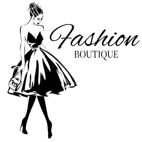 girl with fashion background design vector 06 mujer compras y moda vector pinterest