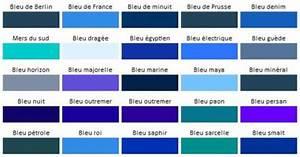 les nuances de la couleur bleu bleu roi pinterest With nuances de bleu peinture