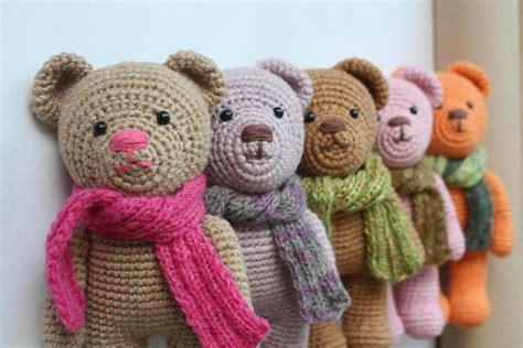 crochet teddy happyamigurumi october 2012