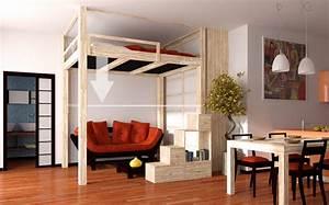 Bett An Der Decke : cabina armadio e parete scorrevole shoji ~ Frokenaadalensverden.com Haus und Dekorationen