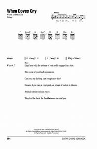 When Doves Cry sheet music by Prince (Lyrics & Chords ...