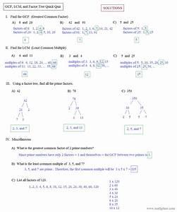 Free Worksheet. Gcf Worksheets. Phinixi.com Worksheets for ...