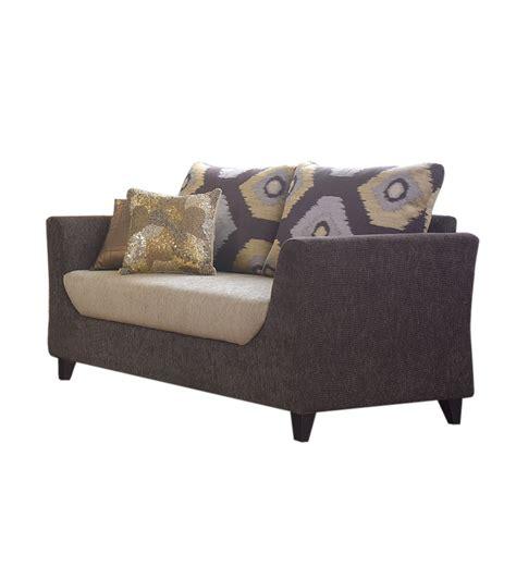 Three Sofa Set by Living Mumbai Glitz Sofa Set 1 Three Seater Sofa