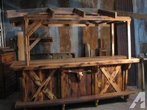 Reclaimed oak barn wood bar for sale in marshfield for Barnwood bars for sale
